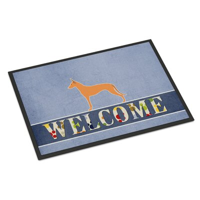 Pharaoh Hound Indoor/Outdoor Doormat