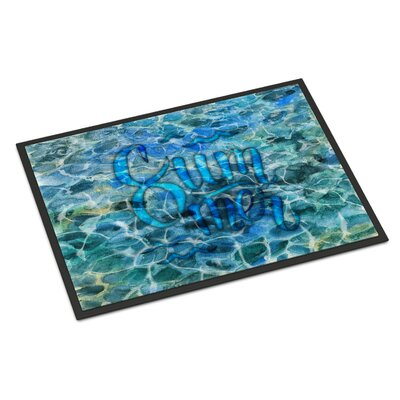 Summer Under Water Indoor/Outdoor Doormat