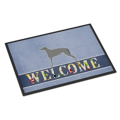 Scottish Deerhound Indoor/Outdoor Doormat