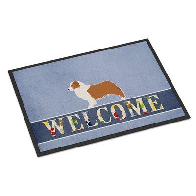 Australian Shepherd Dog Indoor/Outdoor Doormat