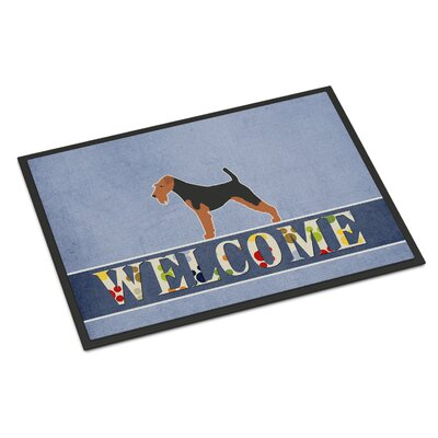Welsh Terrier Indoor/Outdoor Doormat