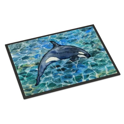 Killer Whale Orca Indoor/Outdoor Doormat