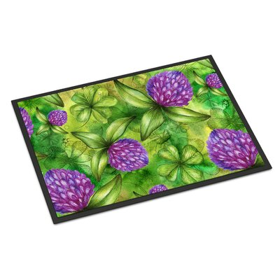 Shamrocks in Bloom Indoor/Outdoor Doormat