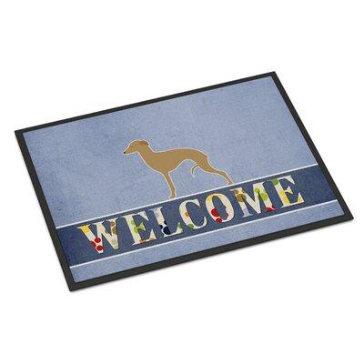 Italian Greyhound Indoor/Outdoor Doormat