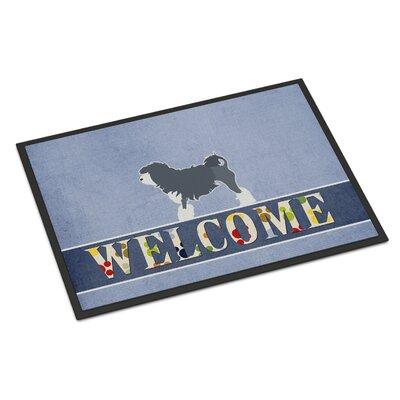 Lowchen Indoor/Outdoor Doormat