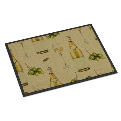 White Wine Indoor/Outdoor Doormat