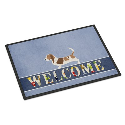 Basset Hound Indoor/Outdoor Doormat