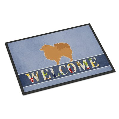 Pomeranian Indoor/Outdoor Doormat
