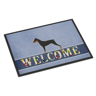 German Pinscher Indoor/Outdoor Doormat