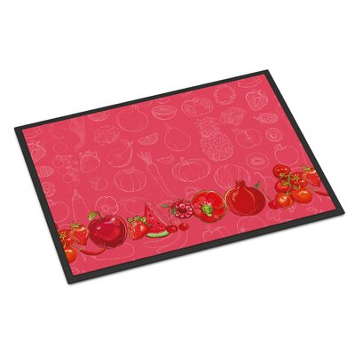 Fruits and Vegetables Indoor/Outdoor Doormat