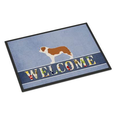 Saint Bernard Indoor/Outdoor Doormat