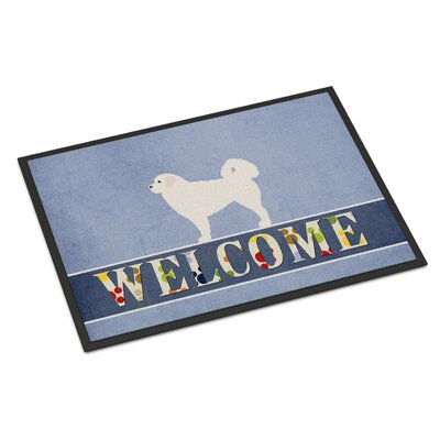 Polish Tatra Sheepdog Indoor/Outdoor Doormat