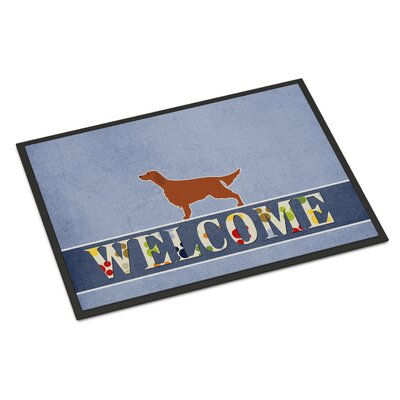 Irish Setter Indoor/Outdoor Doormat