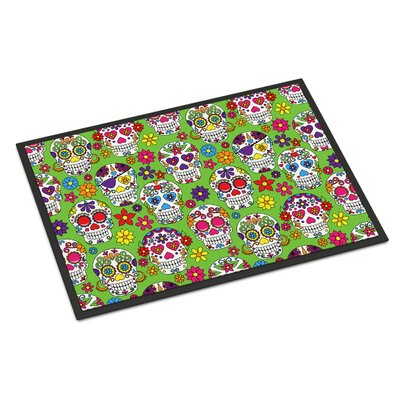 Indoor/Outdoor Doormat Color: Green