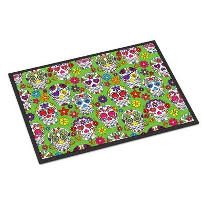 Indoor/Outdoor Doormat Color: Green