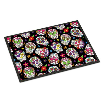 Indoor/Outdoor Doormat Color: Black