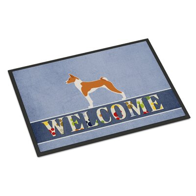 Basenji Indoor/Outdoor Doormat