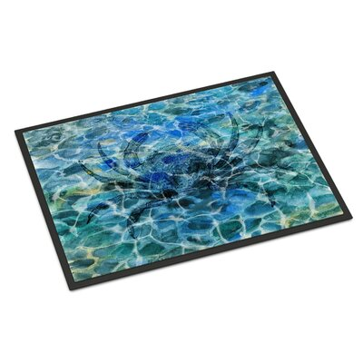 Crab Under Water Indoor/Outdoor Doormat