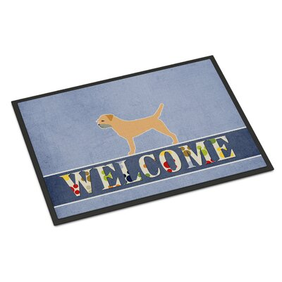 Border Terrier Indoor/Outdoor Doormat