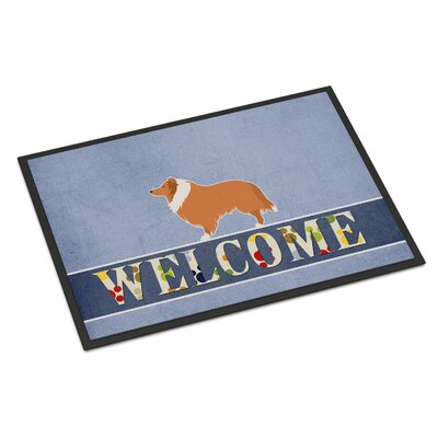 Collie Indoor/Outdoor Doormat