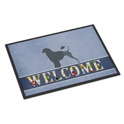 Portuguese Water Dog Indoor/Outdoor Doormat