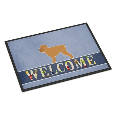 Brussels Griffon Indoor/Outdoor Doormat