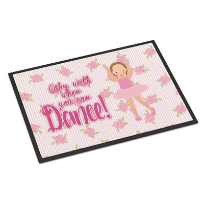 Ballet Brown Short Hair Indoor/Outdoor Doormat