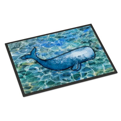 Whale Cachalot Indoor/Outdoor Doormat
