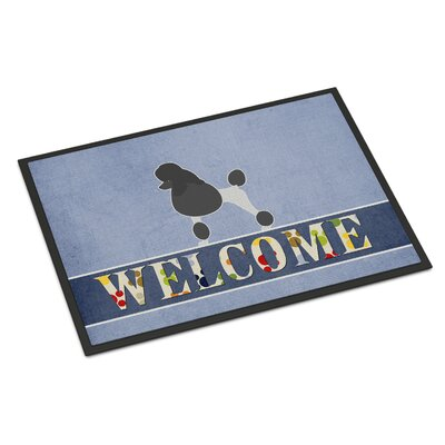Poodle Indoor/Outdoor Doormat