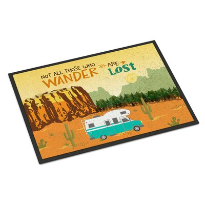RV Camper Camping Wander Indoor/Outdoor Doormat