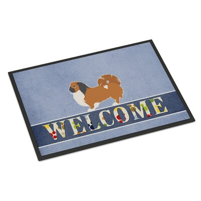 Pekingese Indoor/Outdoor Doormat