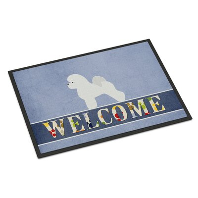 Bichon Frise Indoor/Outdoor Doormat