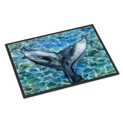 Whale Tail Indoor/Outdoor Doormat