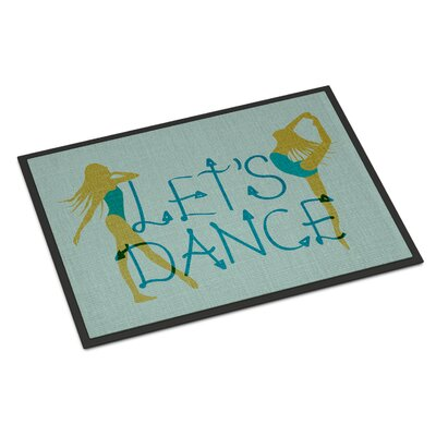 Lets Dance Indoor/Outdoor Doormat