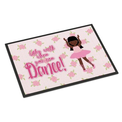 Ballet Long Hair Indoor/Outdoor Doormat