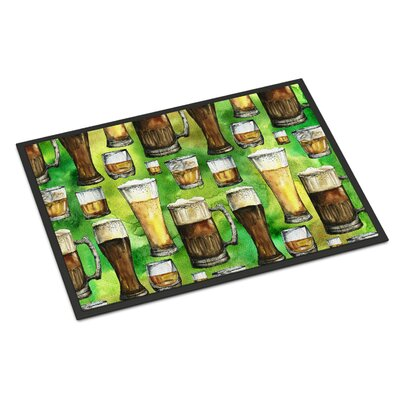 Irish Beers Indoor/Outdoor Doormat