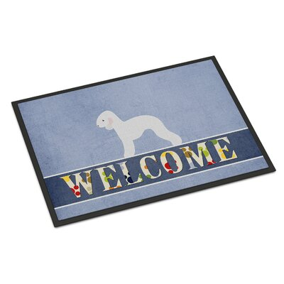 Bedlington Terrier Indoor/Outdoor Doormat