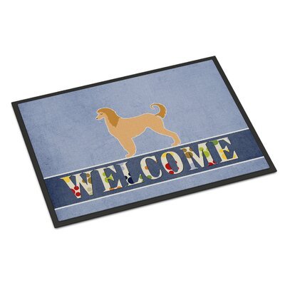Afghan Hound Indoor/Outdoor Doormat