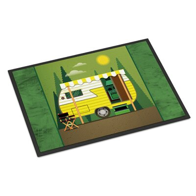 Greatest Adventure Retro Camper Indoor/Outdoor Doormat