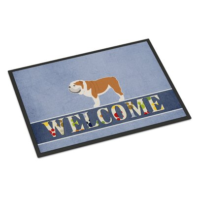 English Bulldog Indoor/Outdoor Doormat