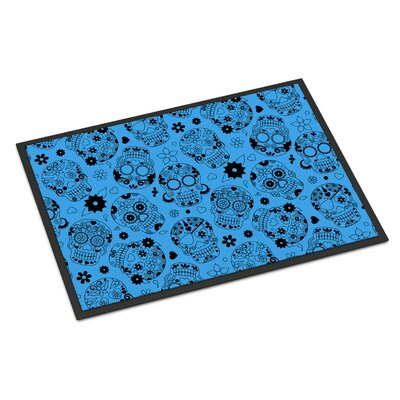 Indoor/Outdoor Doormat Color: Blue