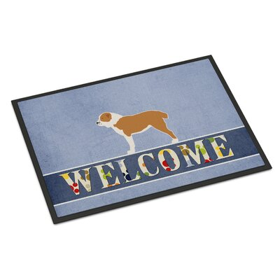 Central Asian Shepherd Dog Indoor/Outdoor Doormat