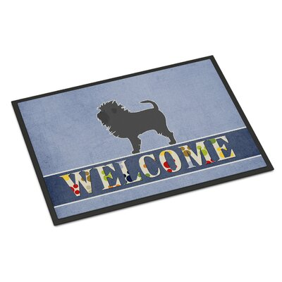 Affenpinscher Indoor/Outdoor Doormat