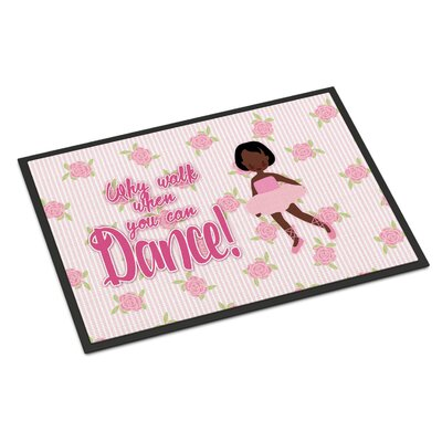 Ballet Short Hair Indoor/Outdoor Doormat