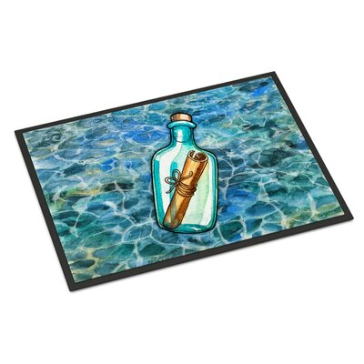 Message in a Bottle Indoor/Outdoor Doormat