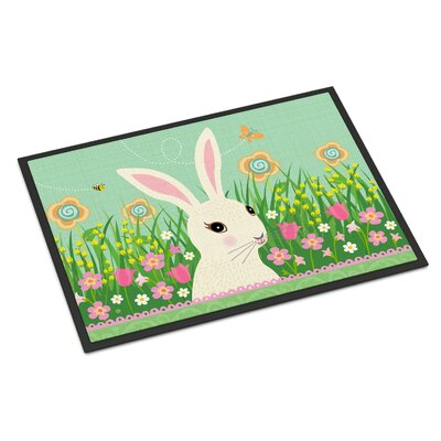Easter Bunny Rabbit Indoor/Outdoor Doormat