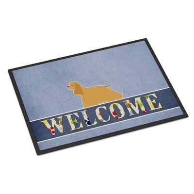 Cocker Spaniel Indoor/Outdoor Doormat