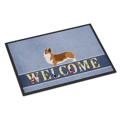 Corgi Indoor/Outdoor Doormat