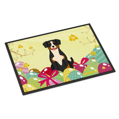Easter Eggs Entlebucher Indoor/Outdoor Doormat