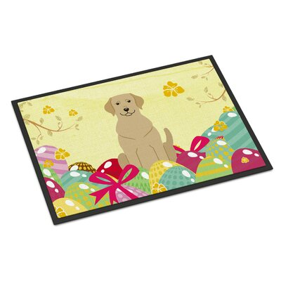 Easter Eggs Labrador Indoor/Outdoor Doormat